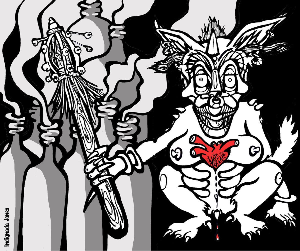 illustrazione per glu3zine N°8 Immaginarium